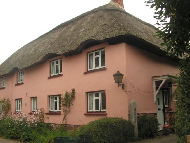 Cob house in Sowton village, near Exeter