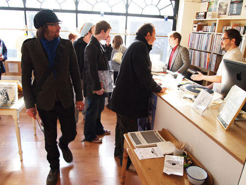 Record Store Day at Drift Records.