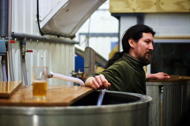 Evin O'Riordain of Kernel Brewery, London. Image: craftypint.com