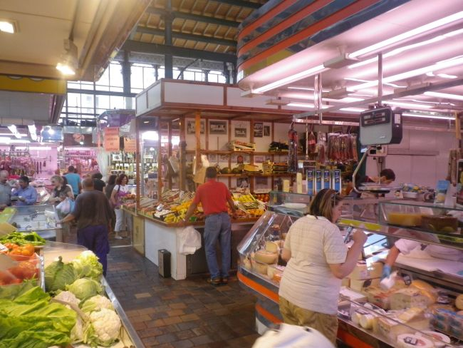 Mercado de la Esperanza in Santander, Spain.  Where I once spent a deeply fulfilling couple of hours...
