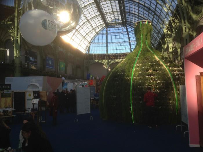 Inside Grand Palais.