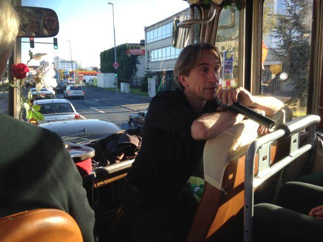 Dr Thomas Köhler, our tour guide.