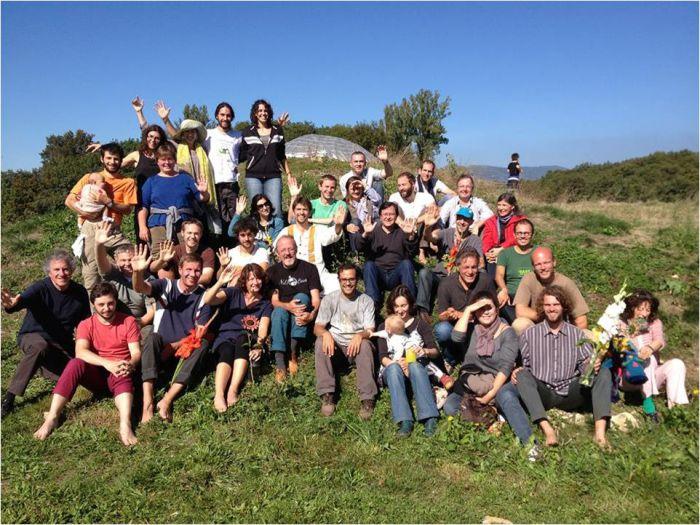 2013 national Transition Hubs gathering, Lyons, France.