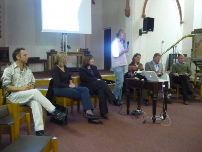 Candidates at the TTT Hustings event.