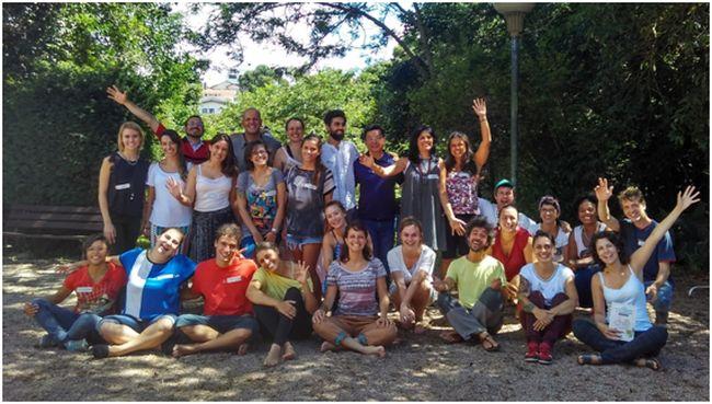 Participantes del curso de transición realizado en Curitiba. Foto: Juan del Río