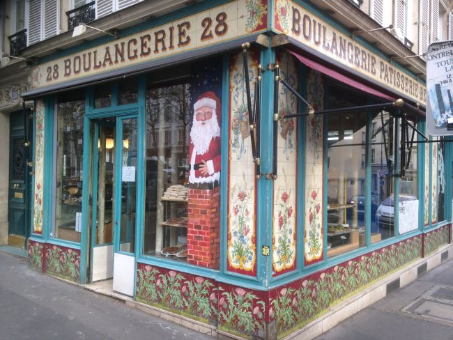 Beautiful old boulangerie spotted en route to Energy Cities event.