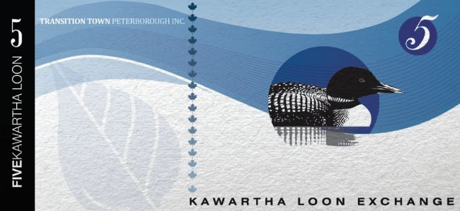 The other side of a Kawartha Loon.