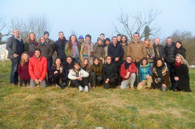 Group photo at TERRA. Photo - Joanne Theisen