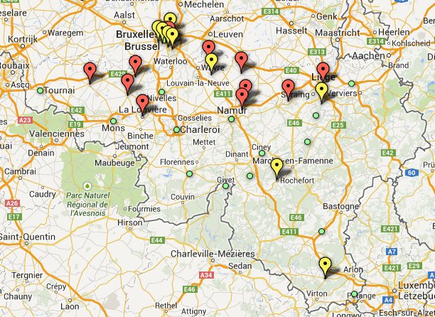 Transition initiatives in Belgium.