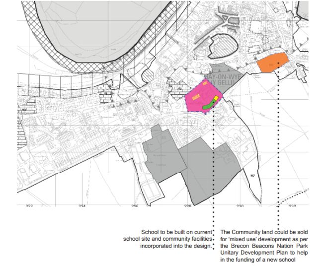 Map showing the Plan B proposals, from their report (available below).
