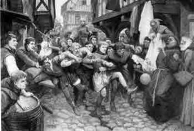 Medieval mob football