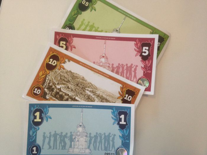 The Valeureux, Liege's new local currency.