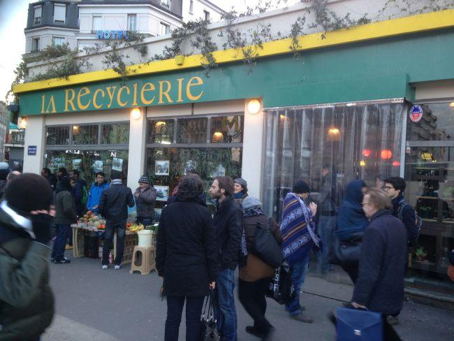 La Recyclerie.