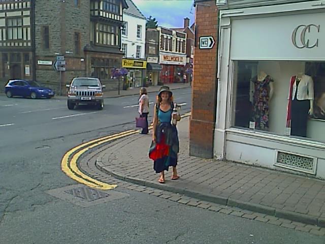 Arriving in Ledbury.