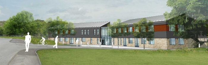 The new Swanage School buildings (opening soon)