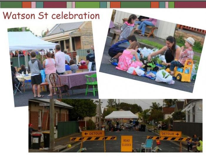 Watson Street celebration