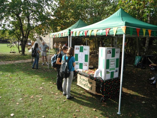 Harvest Share stall at Apple Day 2011