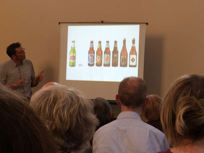 Using craft beer as an analogy for economic localisation.