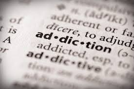 addiction word in dictionary