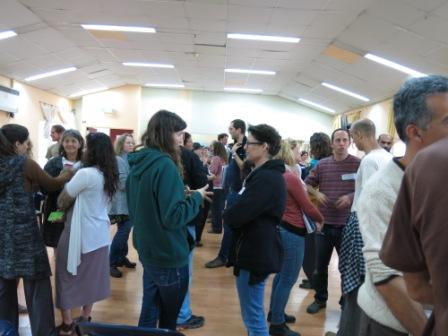 Opening of the Launch training - conversations