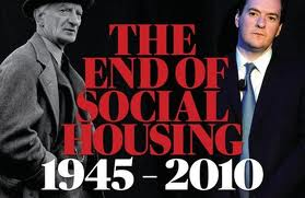 END OF SOCIAL HOUSING POSTER