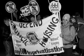 protest, save council housing