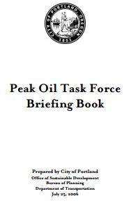 Portland Peak Oil Briefing