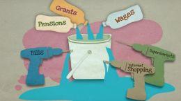 Emilio Mula's 'leaky bucket' animation.