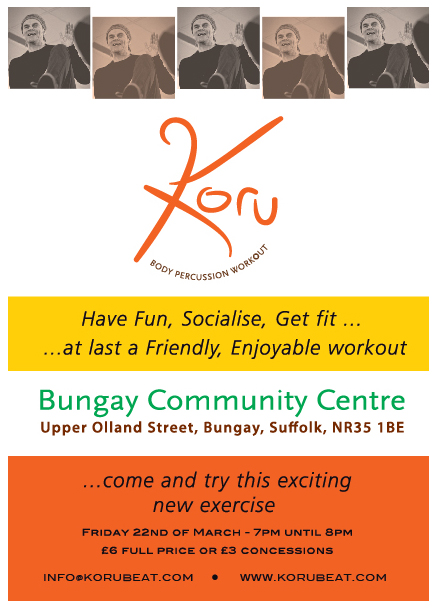 kORU FITNESS SESSION POSTER